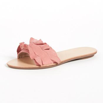 Comfort Women's Shoes Simple Flat Sandals Fancy Ladies Sandals .