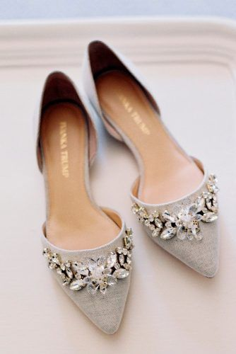 27 Flat Wedding Shoes For Comfort & Style (With images) | Wedding .