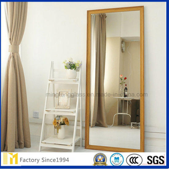 China Floor Stand Dressing Mirror Furniture Free Standing Mirror .