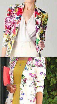 135 Best Floral Blazers images | Floral blazer, Fashion, Floral .