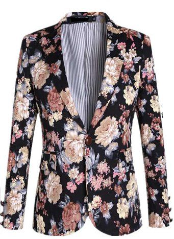 Blazers like this are exactly why FLORAL IS IN FOR MEN. The style .