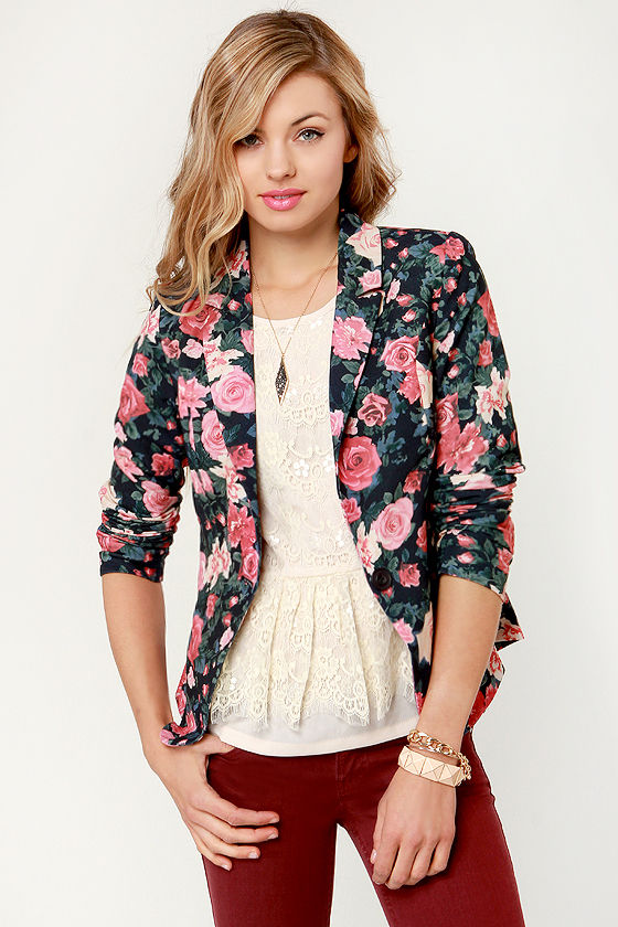 Floral Blazers