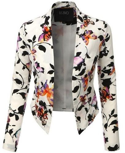 15 Stylish Floral Blazers Collection That Are Steal Your Heart .