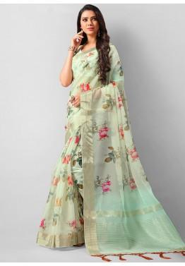 Floral Print Sarees - Buy Designer Floral Sarees Online U