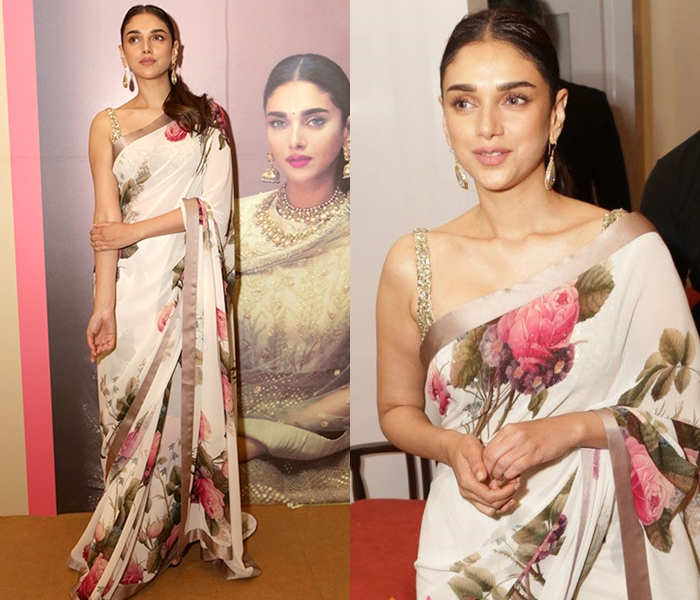 Why You Should Own A Floral Saree Right Now? • Keep Me Styli
