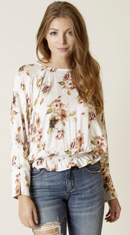 Floral Tops with Jeans : Mustard Seed Floral Top | Buckle (With .