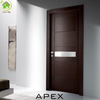 Wooden Interior Door Glass Door / Flush Door Design / Modern House .