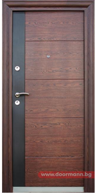 Блиндирана входна врата - Код 616-C (With images) | Flush door .