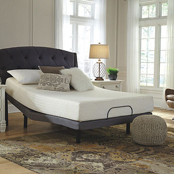Signature Design by Ashley® Chime 10-Inch Firm Memory Foam .