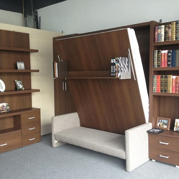 Functional interior designs with modern Murphy sofa beds (With .