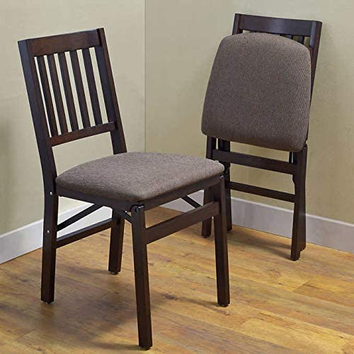 Amazon.com: Stakmore Solid Wood Folding Chair, 2-Pack: Kitchen .