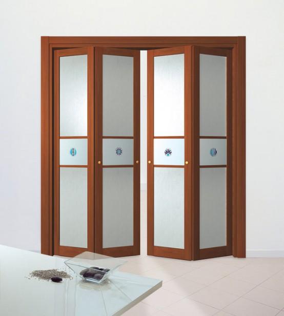 Home Design: Slim Wooden Aluminum Folding Doors Remodeling .
