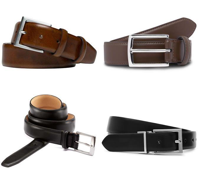 Men's Formal Belts - 6 Rules for wearing belts like a boss   Belt .