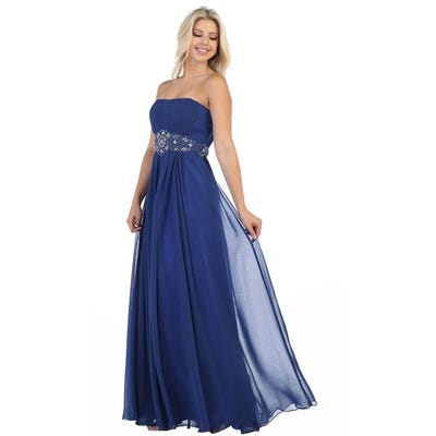 Buy Blue, Strapless Evening & Formal Dresses Online at Overstock .