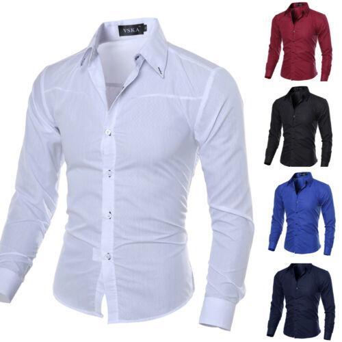 2020 Men Luxury Stylish Formal Shirt Men Dress Casual Luxury .