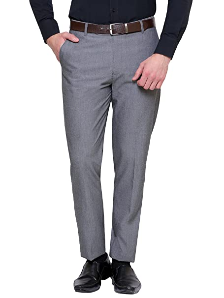 Buy Inspire Men's Slim Fit Formal Trousers at Amazon.