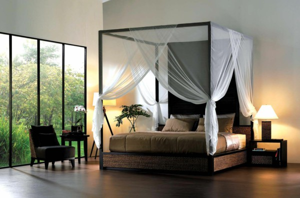 20 Beautiful Rooms With Exquisite Four Poster Bed Desig