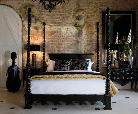 20 Beautiful Rooms With Exquisite Four Poster Bed Designs | Four .