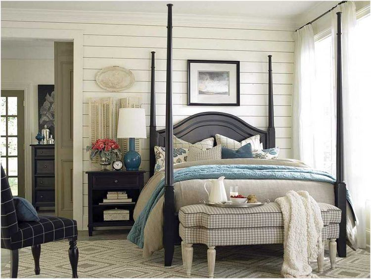 20 Beautiful Four Poster Bed Designs (With images) | Guest bedroom .