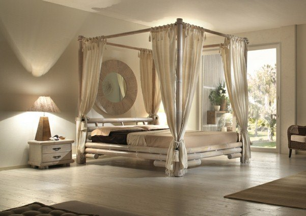 Four Poster Bed Ideas: That's how your dream will come true .
