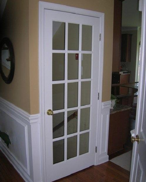 White interior single french door | Home Doors Design Inspiration .