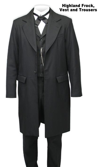 Highland Frock Coat by Wahmak