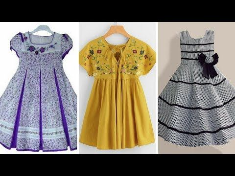 Summer frock,baby lawn frock design 2018/casual frock designs .