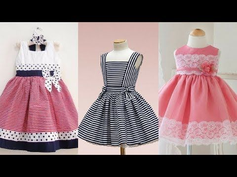Latest cotton frock designs for girls/Frock from old men shirts .