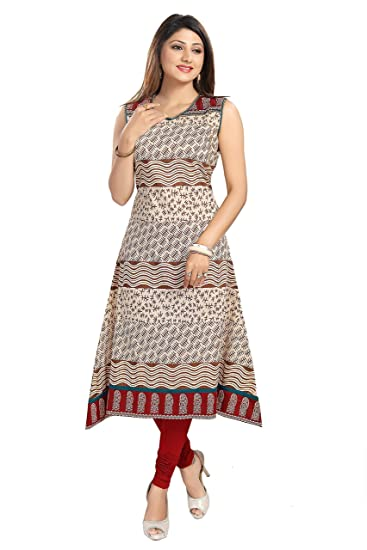 Buy Meher Impex Women's Silk Cotton Frock Style Kurti at Amazon.