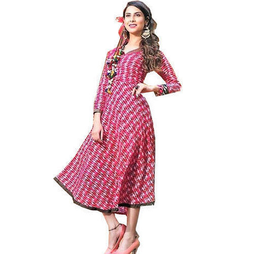 Small And Large Party Wear Fancy Frock Style Kurti, Rs 200 /piece .