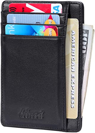 Slim Wallet RFID Front Pocket Wallet Minimalist Secure Thin Credit .