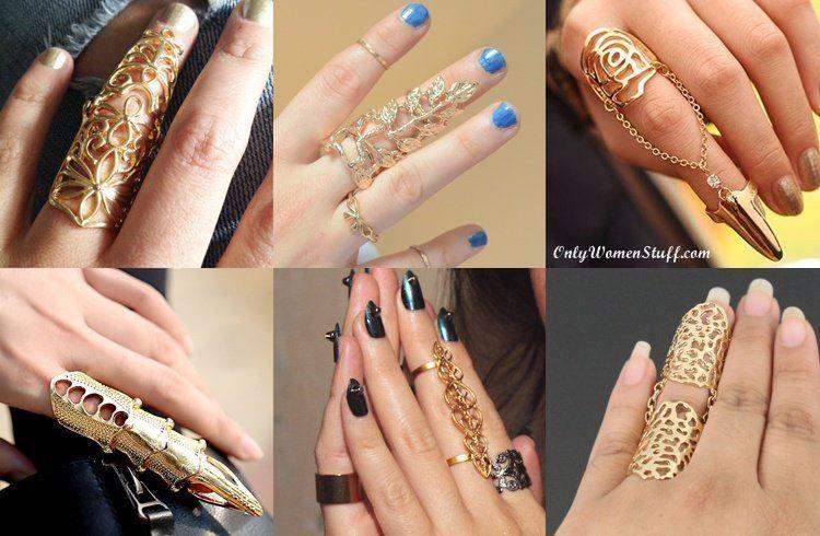 15 Beautiful Finger Rings Designs & Ideas | Full finger rings .