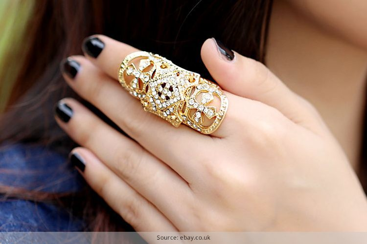 29 Full Finger Ring Design Jewelry | Indian Fashion Blog with .