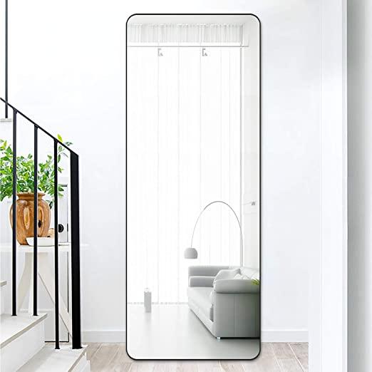 Amazon.com - PexFix Full Length Mirror, Modern Bedroom Floor .
