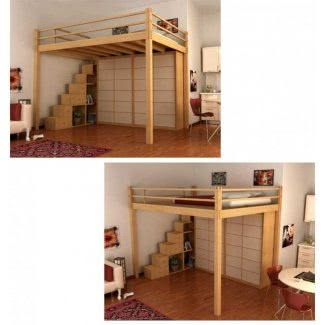 Full Size Loft Bed With Desk Underneath for 2020 - Ideas on Fot