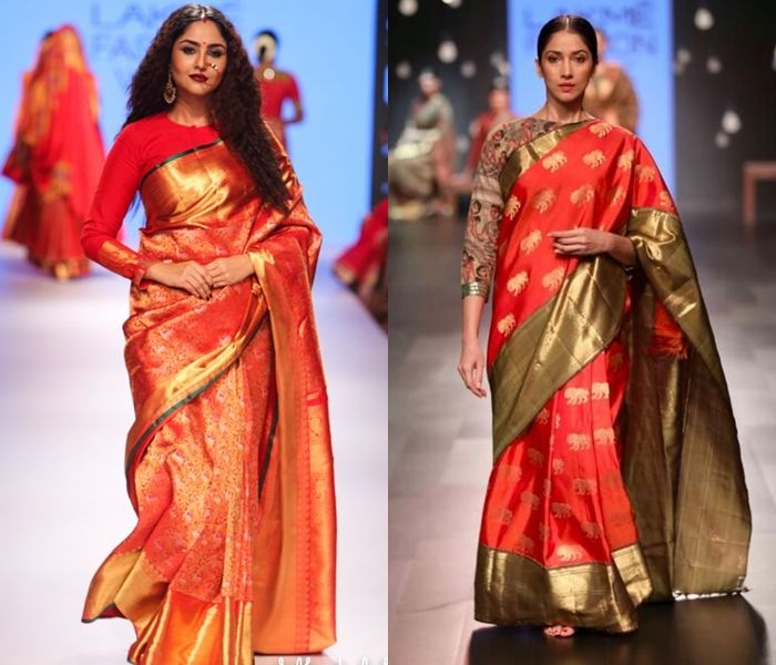 11 Pretty Full Sleeve Blouse Designs for Silk Sarees | Full .