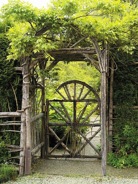 Wooden Garden Gate Designs | A Creative M