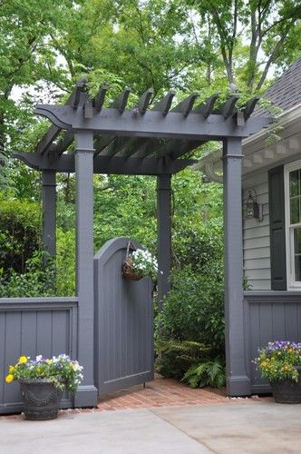 Beautiful Garden Gate Designs | Pergola garden, Garden gate design .