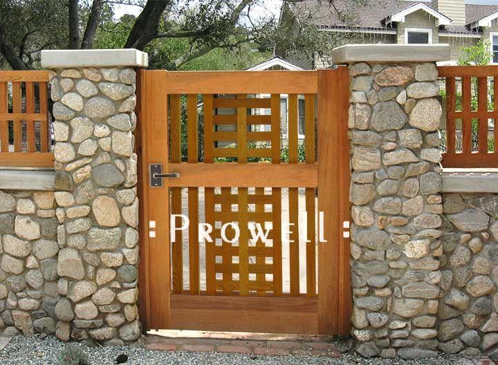 Wood Garden Gate Designs | Garden gate design, Wooden garden gate .
