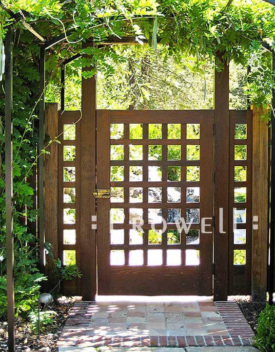 Inspiration For Beautiful Garden Gates Design Ideas | Fence desi