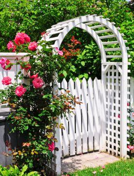 Cottage Garden Gate Designs P