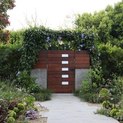 Modern Garden Gates Design Ideas, Pictures, Remodel, and Decor .