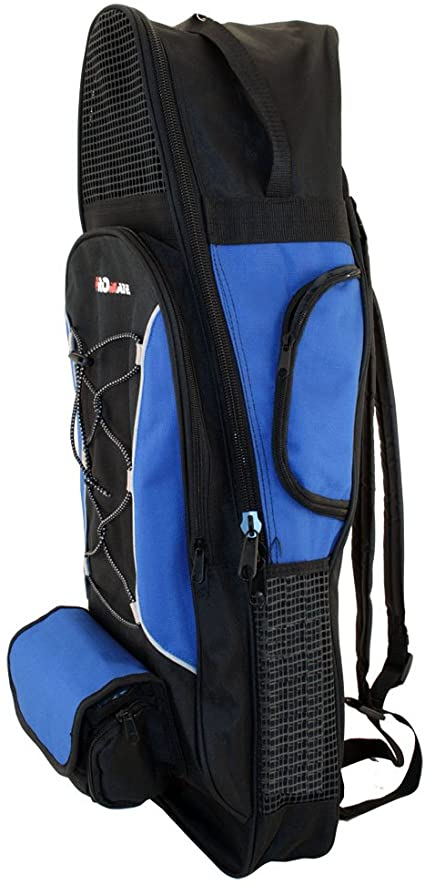Amazon.com : PROMATE Backpack Style Bag For Mask, Snorkel, & Fins .