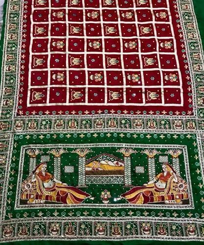 Badhani Sarees & Gharchola Sarees by Shree Bandhej, Rajk
