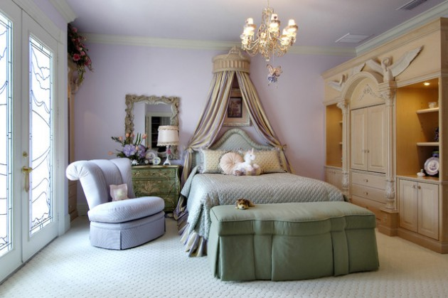 18 Delightful Traditional Girl's Bedroom Design Ide