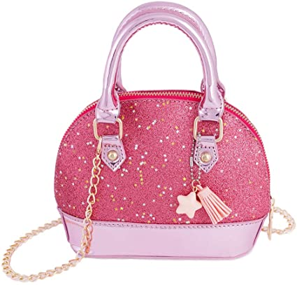 Amazon.com: RockPanda Princess Little Girls Purses Satchel .
