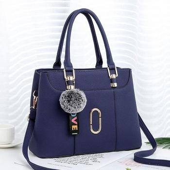 Handbag Design Korean Fashion Women Pu Material Shoulder Bag .