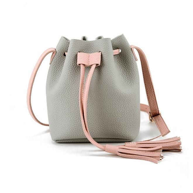 Girls Cute Korean Bags Messenger Leather Shoulder Sling Bags For .