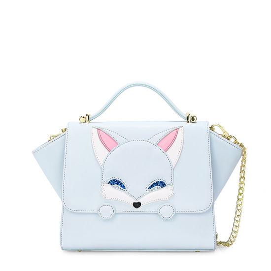 China Cartoon Cute Fox Girls Wing Handbags Lady Satchel Bag .