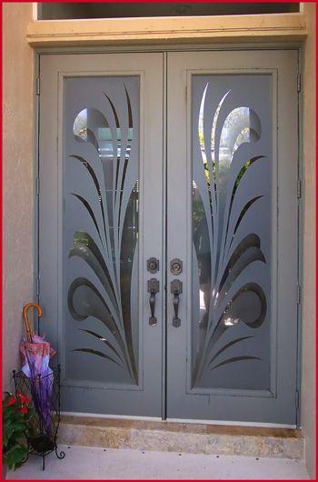 Etched Glass Door #tampaactiveadultliving | Etched glass door .